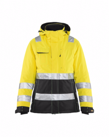 Blaklader 4872 Ladies High Vis Winter Jacket (Yellow/Black)
